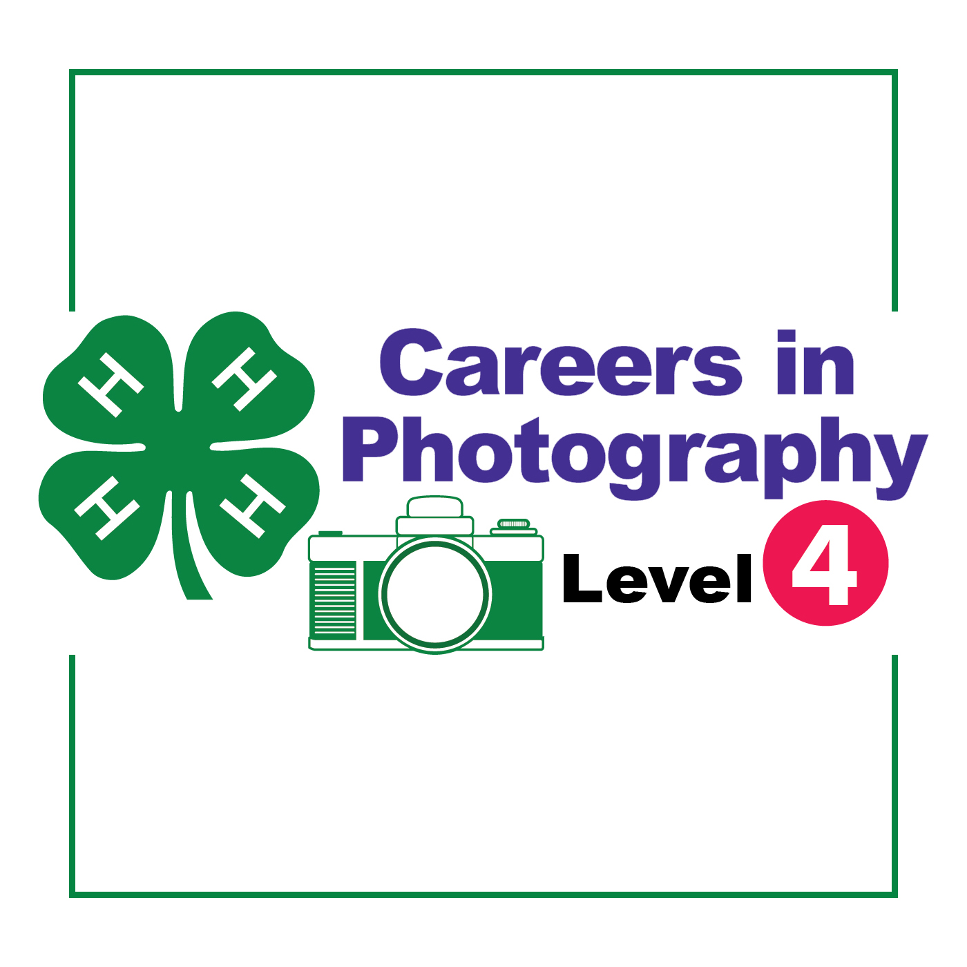 4-H Photography E-Learning Logo Image