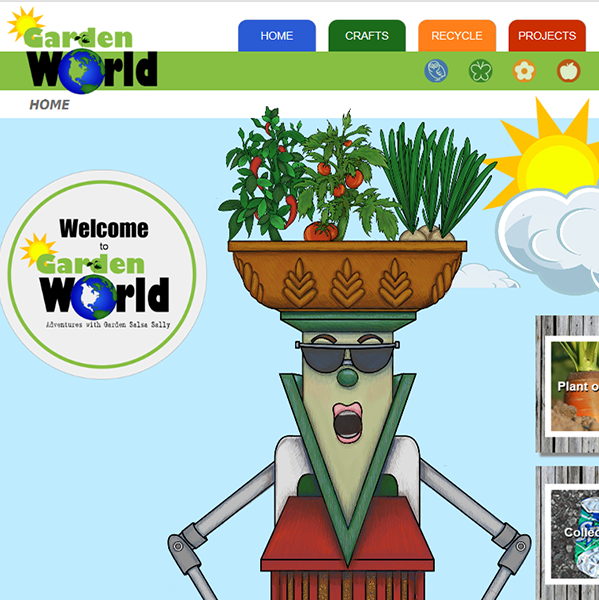 Garden World Website Thumbnail Image