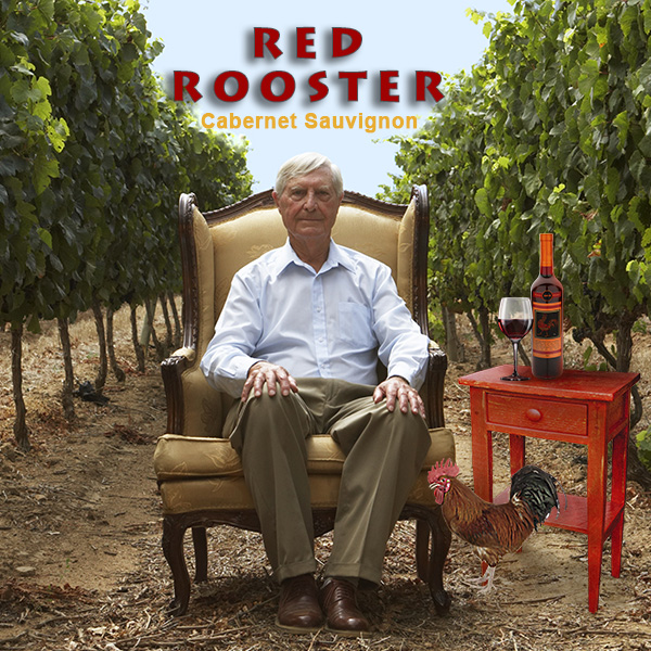 Red Rooster Wine Vinyard Image